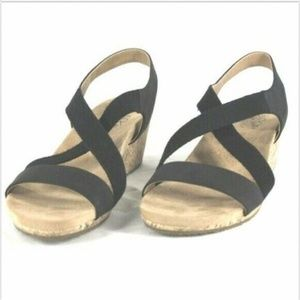 LifeStride Wedge Sandals 11 NWOT (A4DAR1051519)